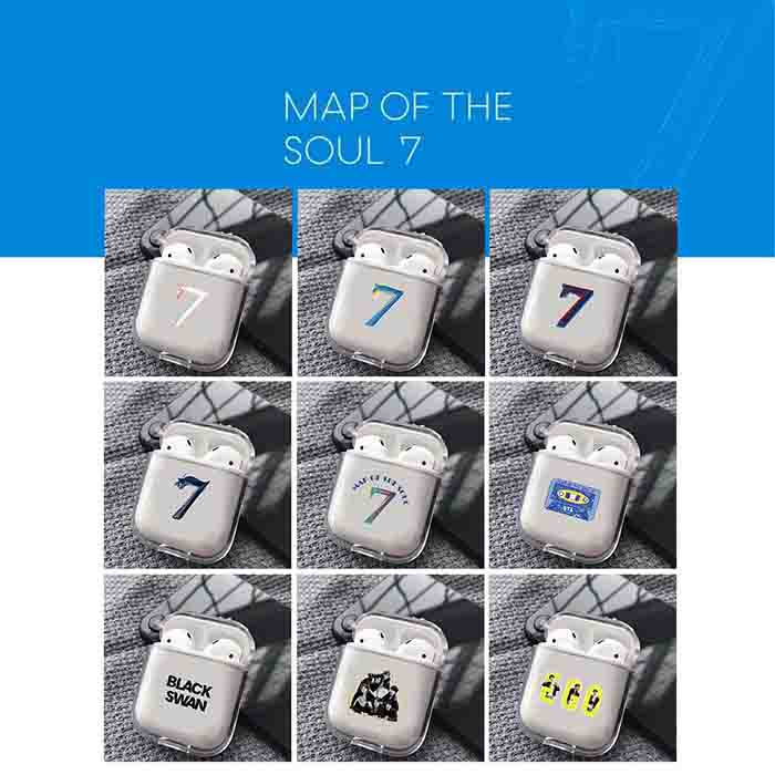 BT21 X MAP OF THE SOUL 7 AIRPODS CASE1/2