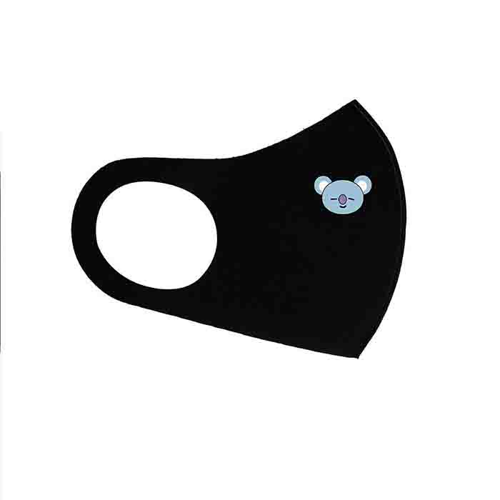 BT21 Baby Hanging Ear Masks - GROUP / BLACK / - Bag