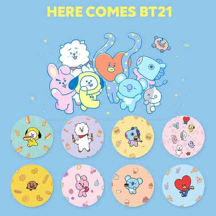 BT21 Cartoon Mobile Phone Stand