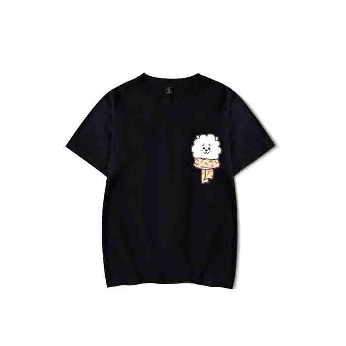 BT21 Cartoon Print T-Shirt