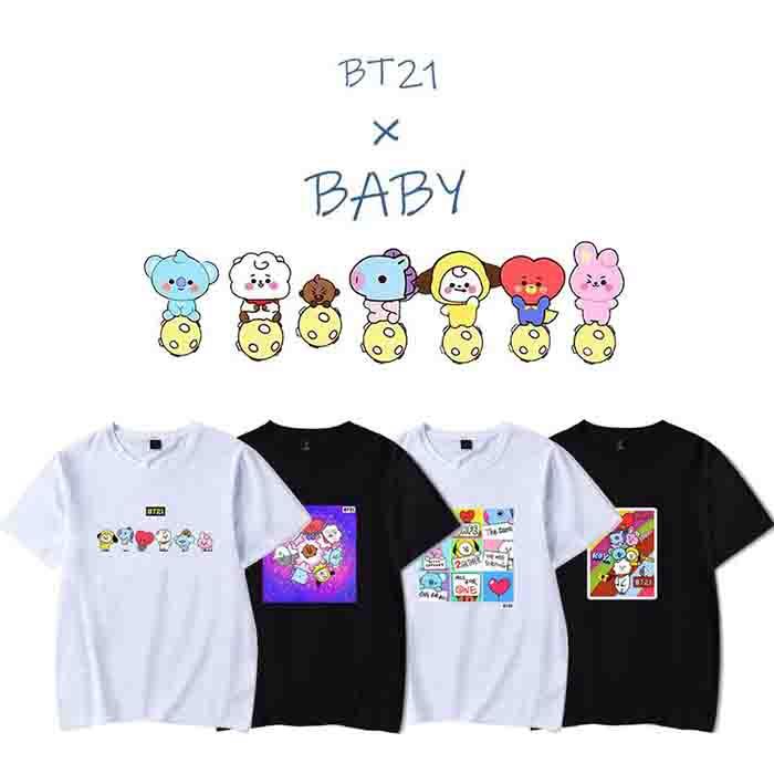 BT21 Cartoon T-Shirt