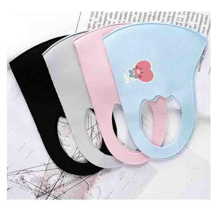 BT21 Cute Baby Children's Mask(For children)