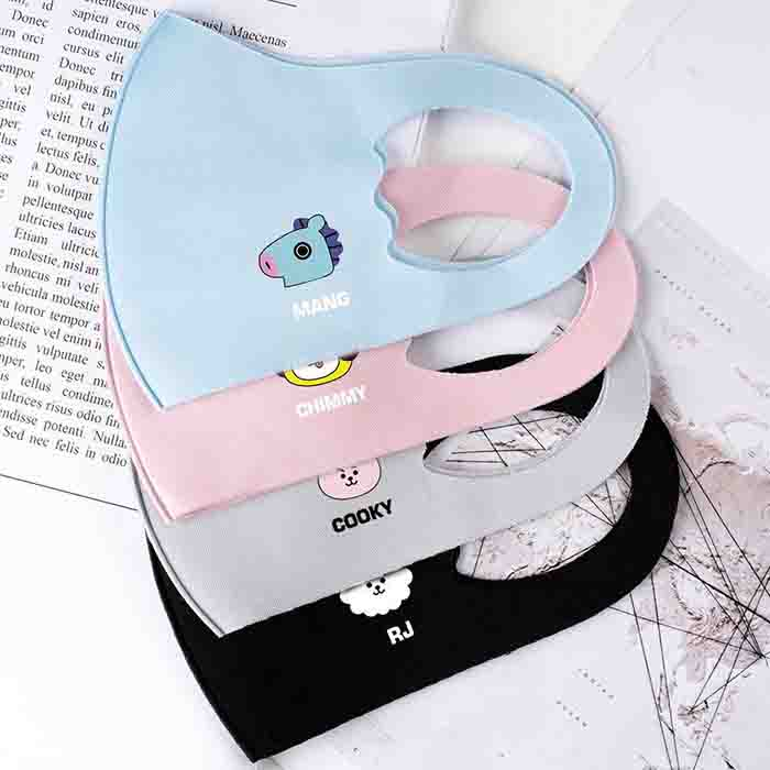 BT21 Cute Character Children's Mask(For children)