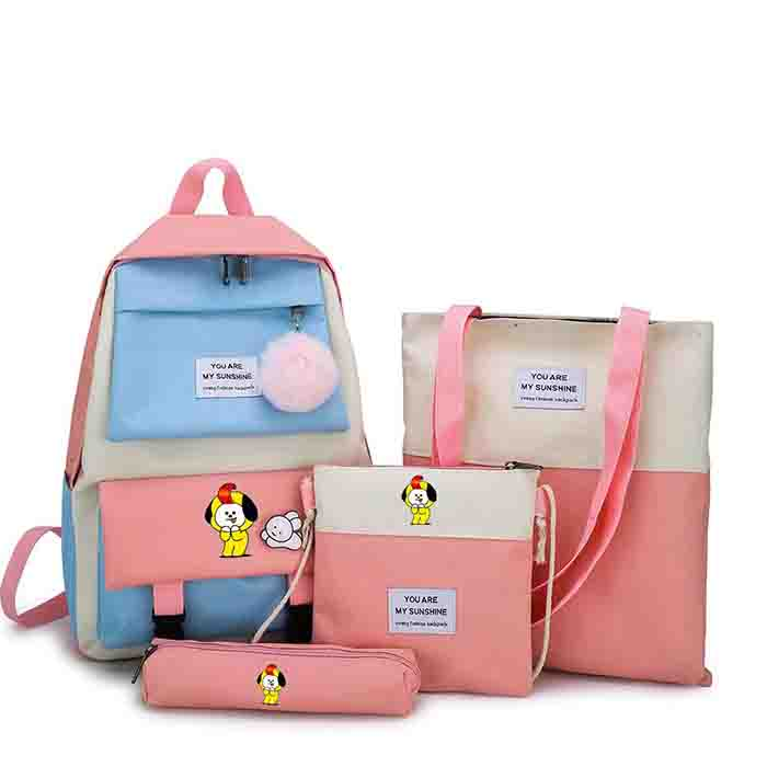 BT21 Four-piece Backpack