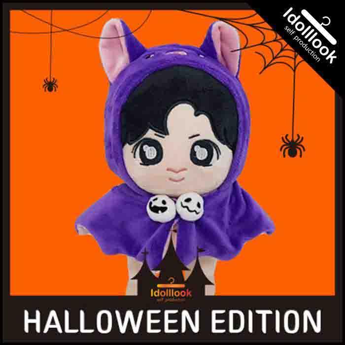 BT21 Halloween Bat Cloak Doll Clothes