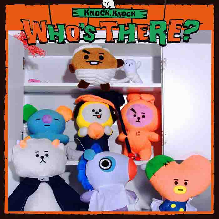 BT21 Halloween Cartoon Doll