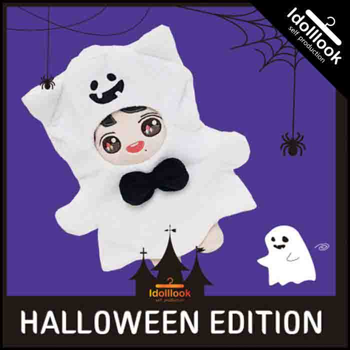 BT21 Halloween Ghost Nniverse Suit Doll Clothes