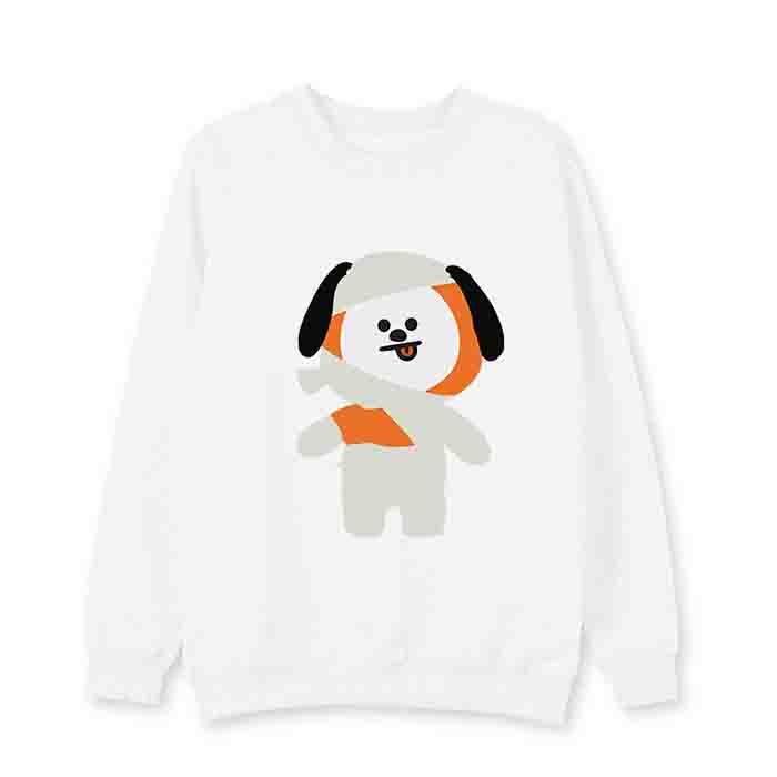 BT21 Halloween Round Neck Sweater
