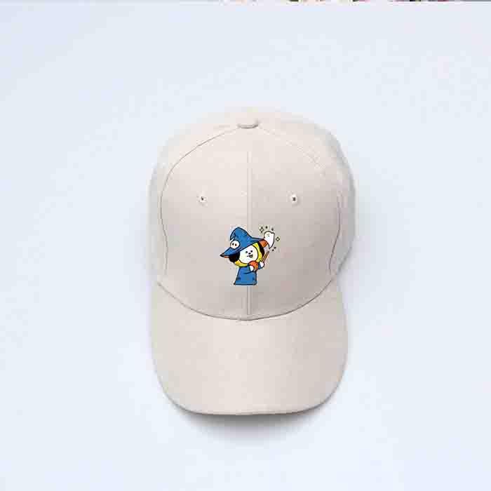 BT21 Halloween Suede Baseball Cap