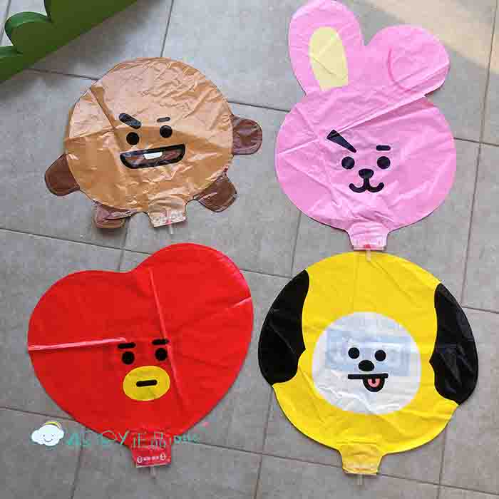 BT21 party balloons