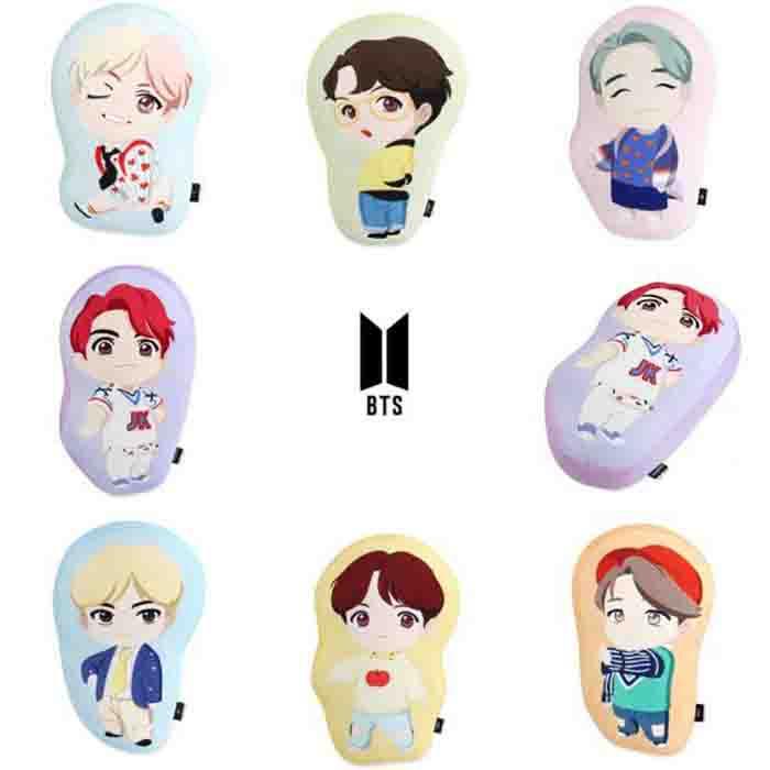 BTS Pop Up House Of BTS Seoul BTS Character Cushion