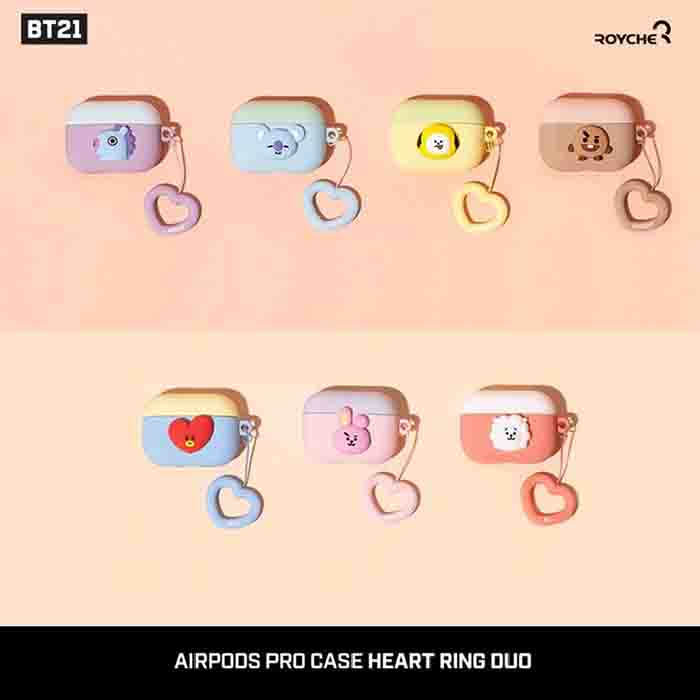 BT21 Silicone Airpods Case