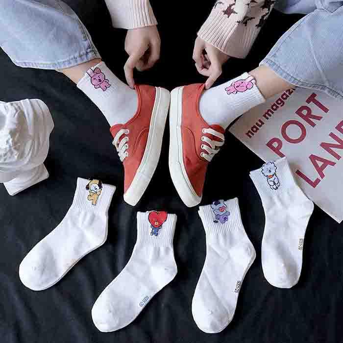 BT21 5 Pairs Socks