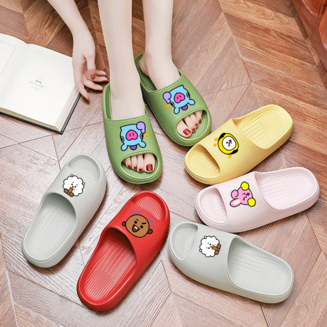 BT21 Soft Slippers