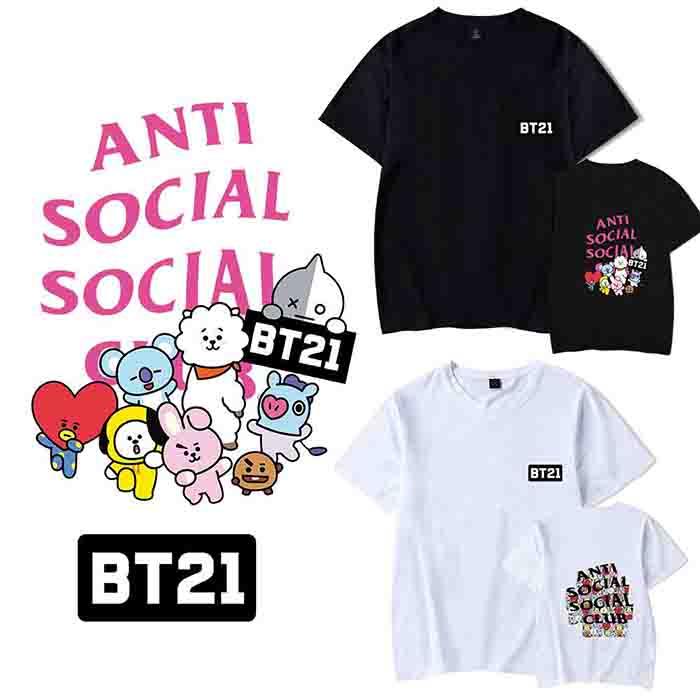 BT21 X ASSC Short Sleeve T-shirt