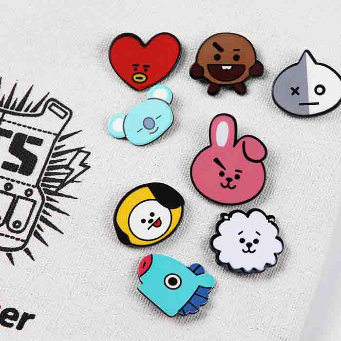 BT21 X Badge