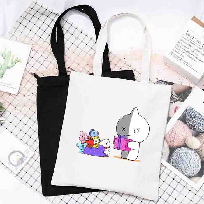 BT21 X canvas bag