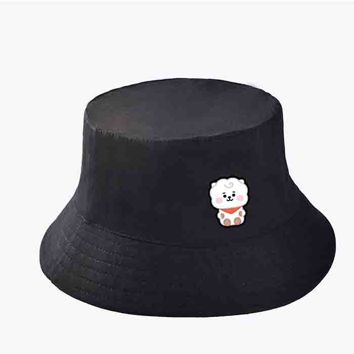 BT21 X fisherman Bucket Sun Hat