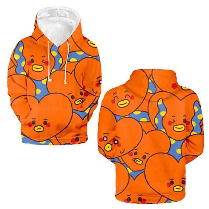 BT21 X Hoodie Sweatshirt