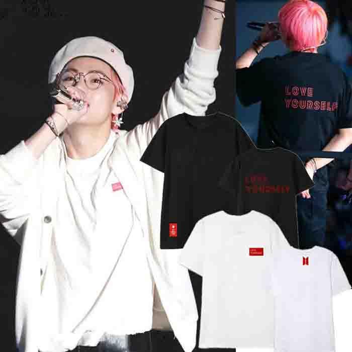 BT21 X Love Yourself Short Sleeve T-shirt