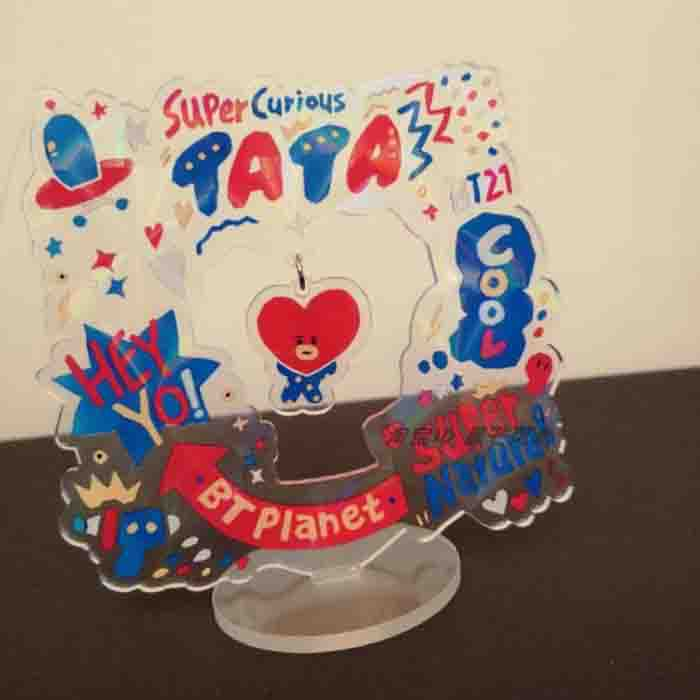 BT21 X TATA STANDING PLAQUE