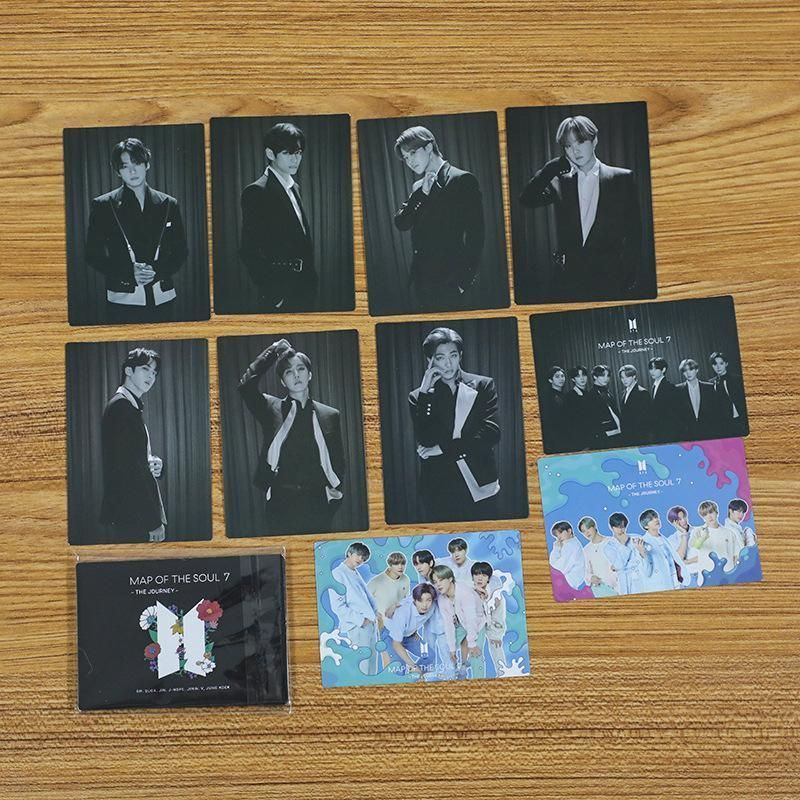 BTS 10 Sheets Map of The Soul 7 The Journey Card