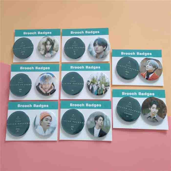 BTS 2020 Winter Package Brooch Badge