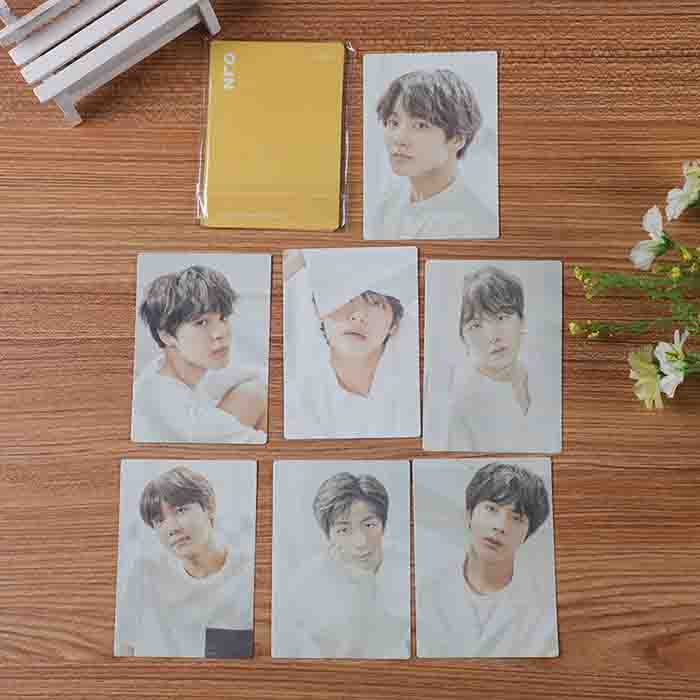 BTS 7 Sheets Today Exhibition Yellow Card