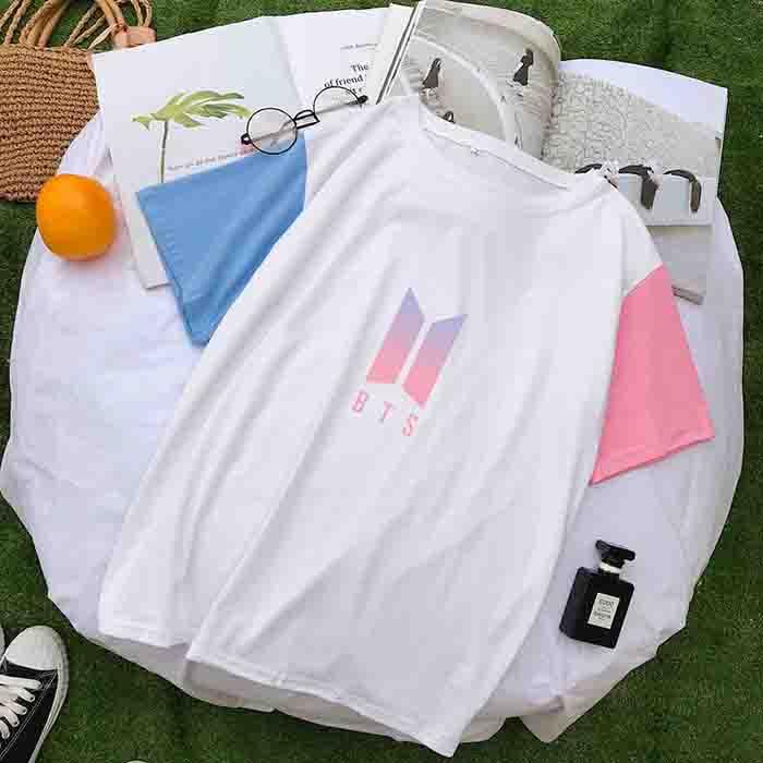 BTS Album Peripheral Colorblock T-shirt