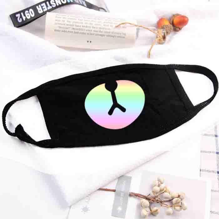 BTS BT21 Color Laser Printed  Mask