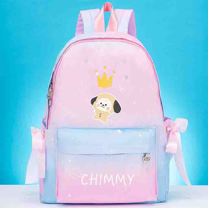 BTS BT21 Cute Gradient Backpack