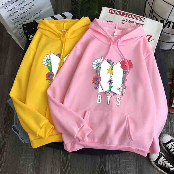 BTS Candy Colors Hoodie