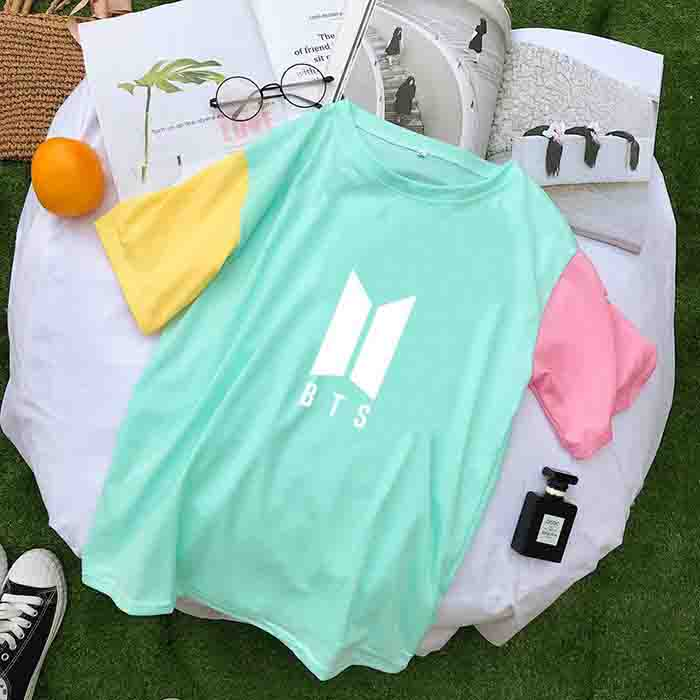 BTS Colorblock T-shirt