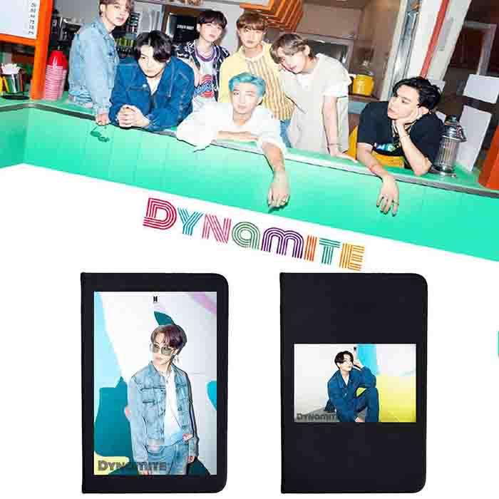 BTS Dynamite Black Matte Notebook