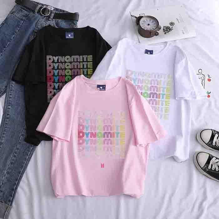 BTS Dynamite Candy Colors T-shirt