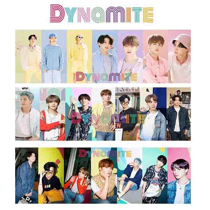 BTS Dynamite Cheer Banner