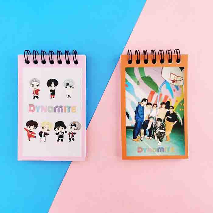 BTS Dynamite Coil Notebook