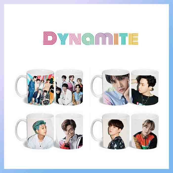 BTS Dynamite Color changing Water Cup
