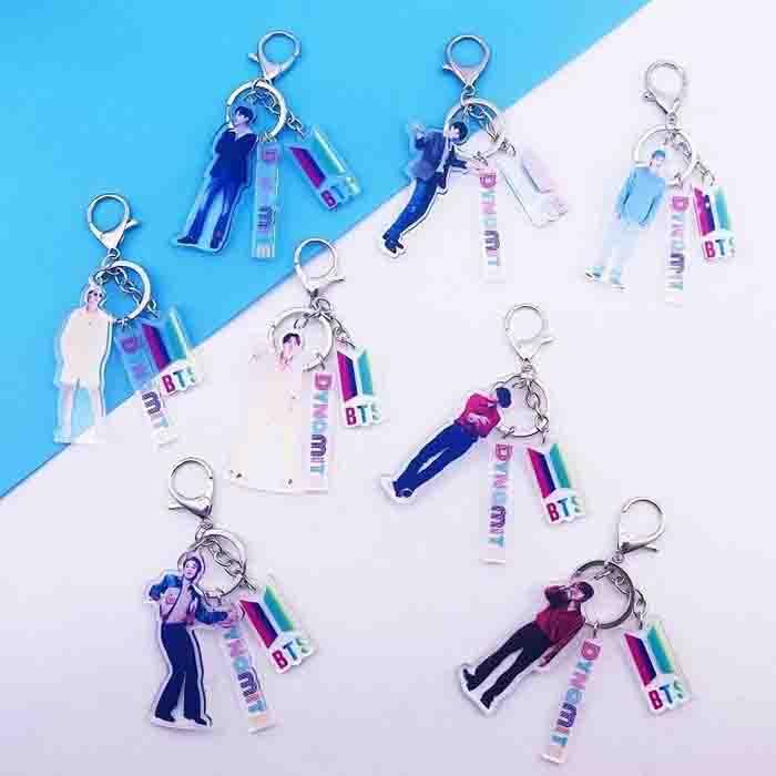 BTS Dynamite Keychain