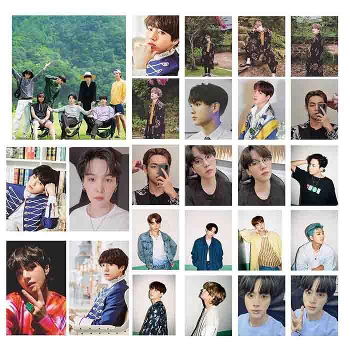 BTS DYNAMITE LOMO Card