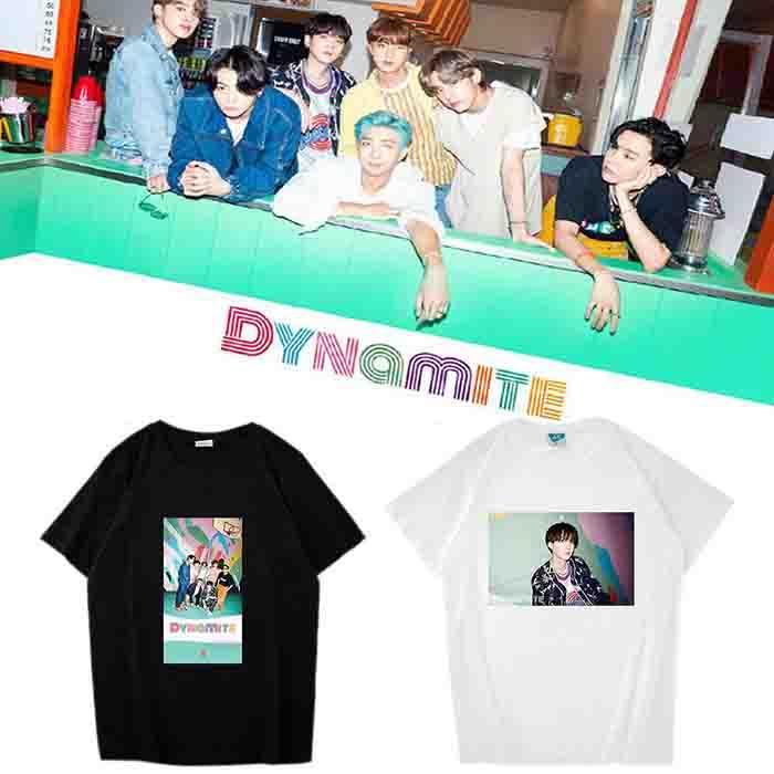 BTS Dynamite Member T-shirt