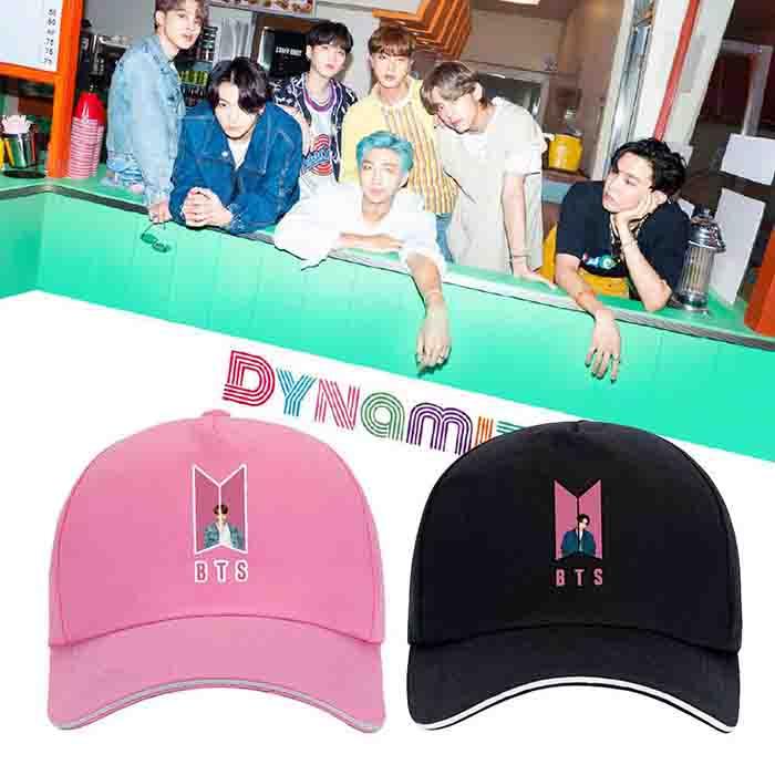BTS Dynamite Peaked Cap