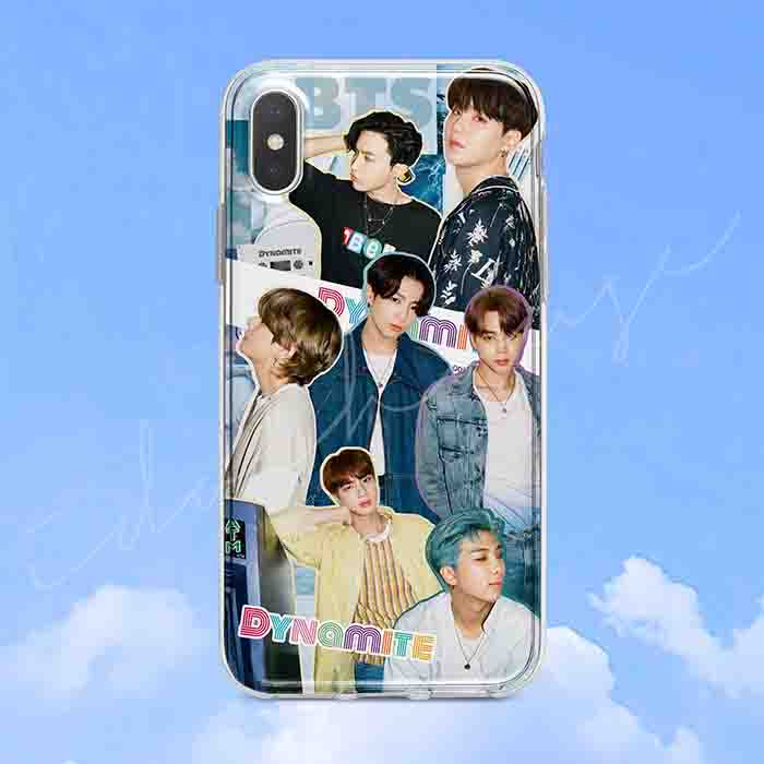 BTS Dynamite Peripheral Phone Case