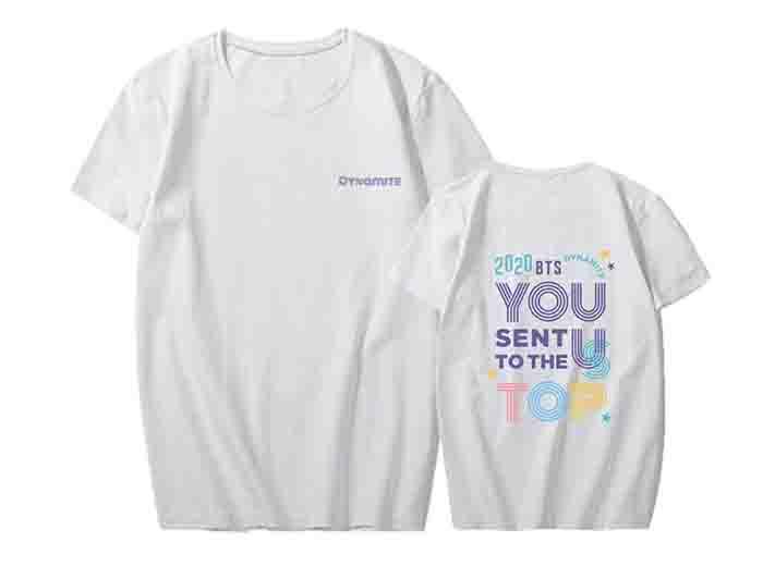 BTS Dynamite Peripheral T-shirt