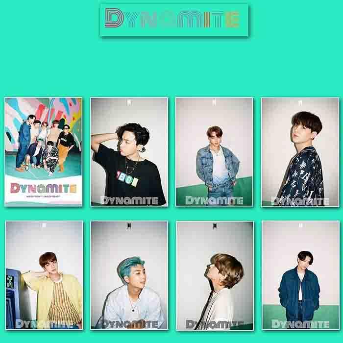 BTS DYNAMITE Poster