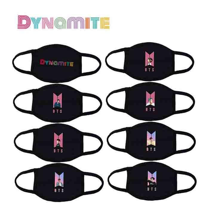 BTS Dynamite Three-layer Cotton Mask