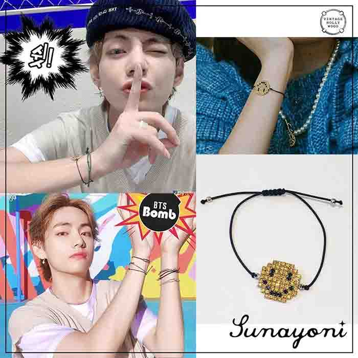 BTS Dynamite V Smile Bracelet