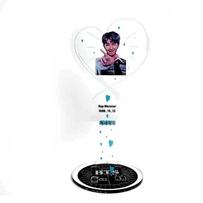 BTS Heart-shaped Stand
