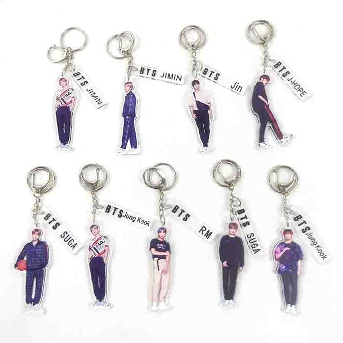 BTS Humanoid sign Keychain