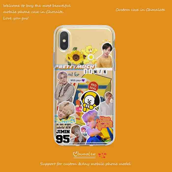 BTS X JIMIN IPHONE CASE